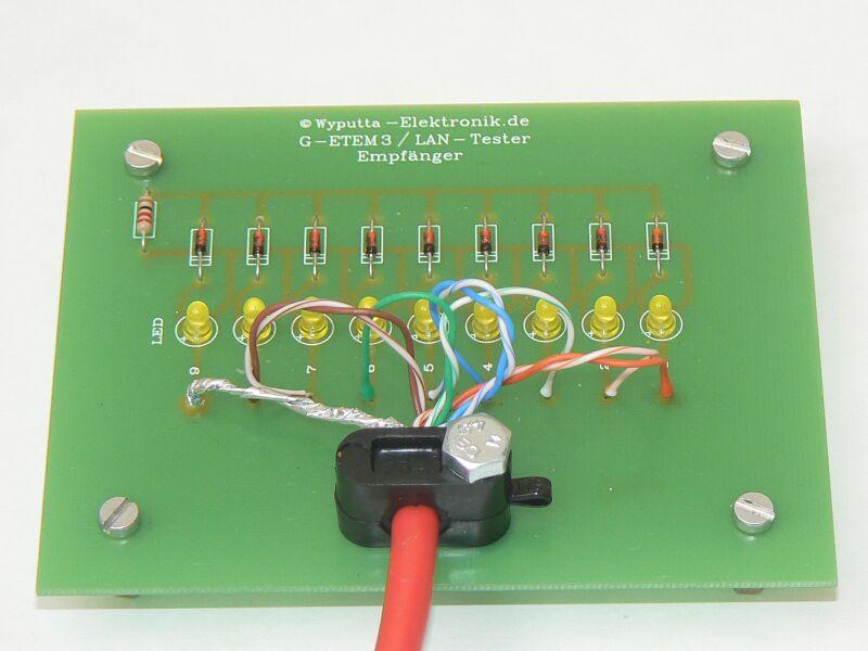 Тестер для сетевого кабеля своими руками